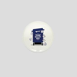 Trump Ballot Box Mini Button