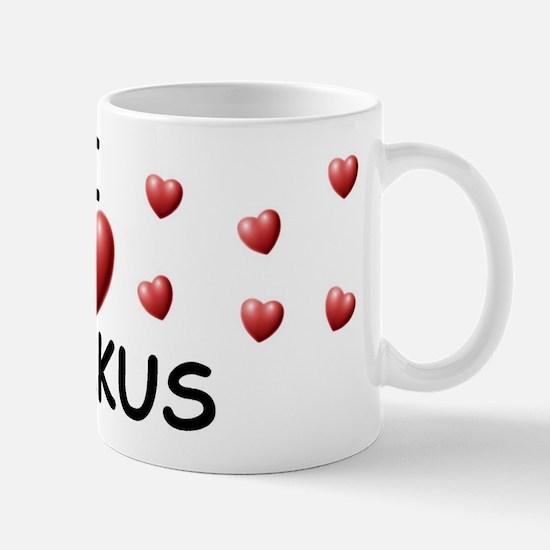 I Love Markus - Mug