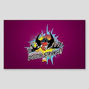 Man Called Doctor Strange Sticker (Rectangle)