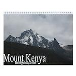 Mount Kenya Wall Calendar