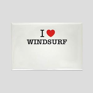 I Love WINDSURF Magnets