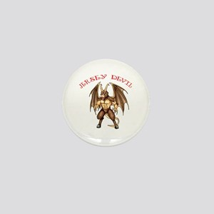 Pine Barren Horror Mini Button