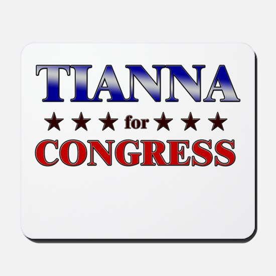 TIANNA for congress Mousepad