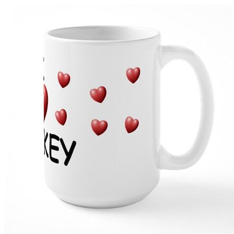 I Love Mickey - Large Mug