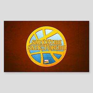 Doctor Strange Sanctum Sanctor Sticker (Rectangle)
