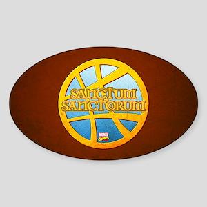 Doctor Strange Sanctum Sanctorum Sticker (Oval)