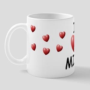 I Love Mike - Mug