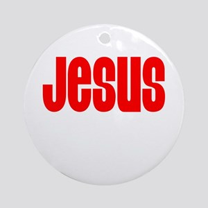 Jesus T Shirts Ornament (Round)