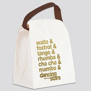 Dance Names Canvas Lunch Bag