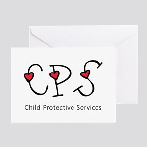 CPS Hearts Greeting Card