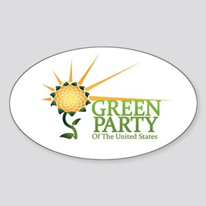 Green Party Alternate Logo Sticker