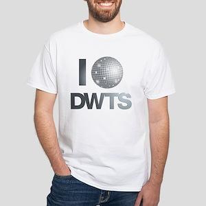 Disco Ball DWTS White T-Shirt