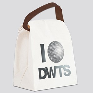 Disco Ball DWTS Canvas Lunch Bag