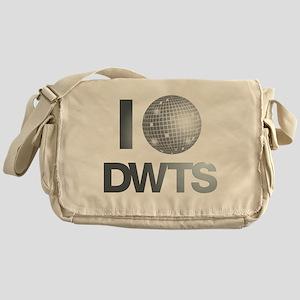 Disco Ball DWTS Messenger Bag