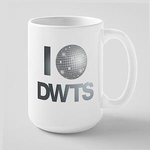 Disco Ball DWTS Large Mug