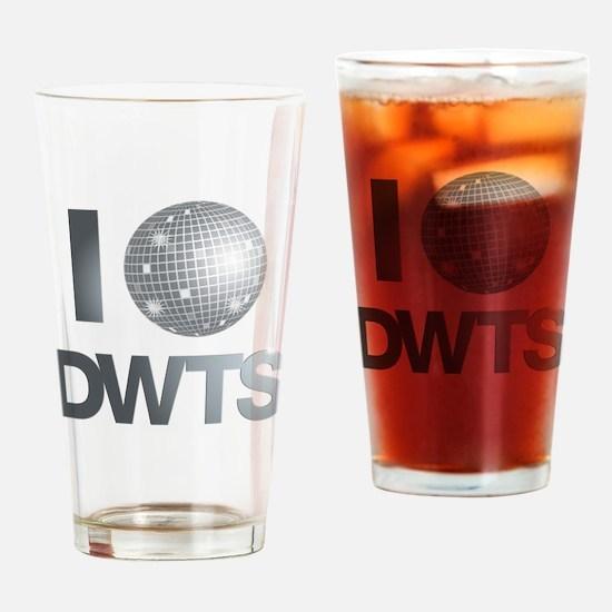 Disco Ball DWTS Drinking Glass