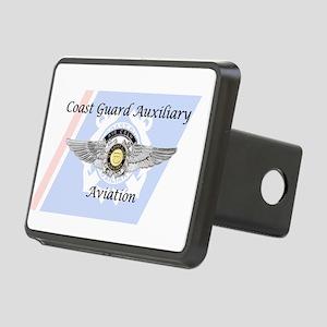 Coast Guard Auxiliary Avia Rectangular Hitch Cover