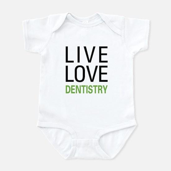 Live Love Dentistry Infant Bodysuit