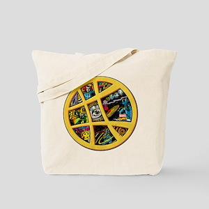 Doctor Strange Sanctum Window Collage Tote Bag