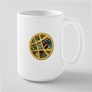 Doctor Strange Sanctum Window Collage Large Mug