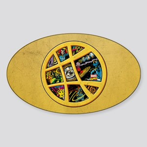 Doctor Strange Sanctum Window Colla Sticker (Oval)