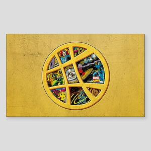 Doctor Strange Sanctum Window Sticker (Rectangle)