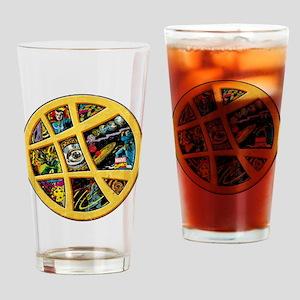 Doctor Strange Sanctum Window Colla Drinking Glass