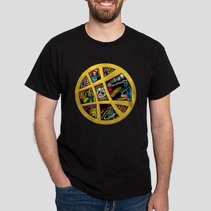 Doctor Strange Sanctum Window Collage Dark T-Shirt