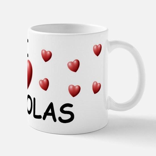 I Love Nickolas - Mug