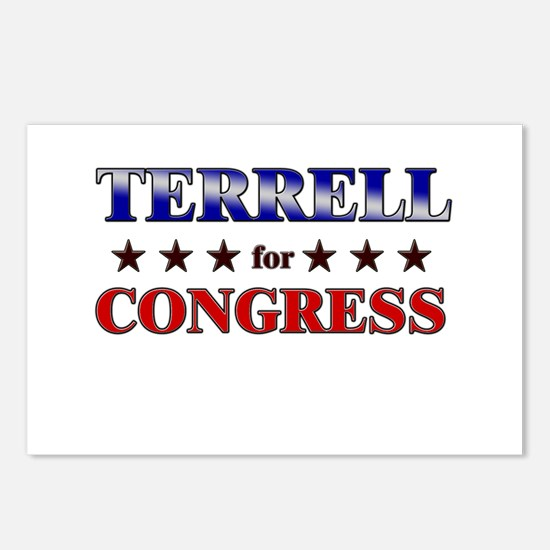 TERRELL for congress Postcards (Package of 8)