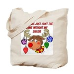 Christmas without my Sailor  Tote Bag