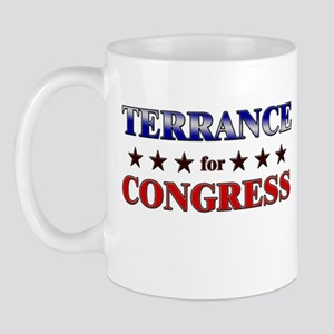 TERRANCE for congress Mug
