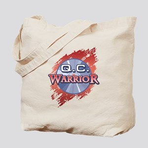"""Q.C. Warrior"" Tote Bag"