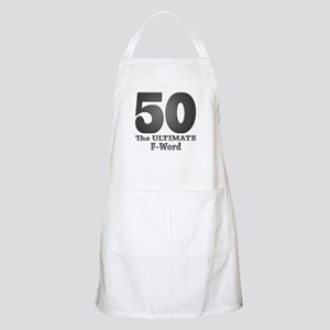 50: The ULTIMATE F-Word (bw) BBQ Apron