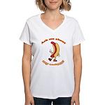 Ask Me Weiner Women's V-Neck T-Shirt