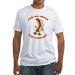 Ask Me Weiner Fitted T-Shirt