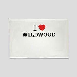 I Love WILDWOOD Magnets