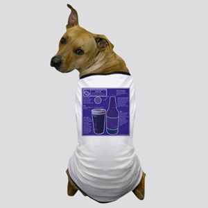 Diagram of a Beer Dog T-Shirt