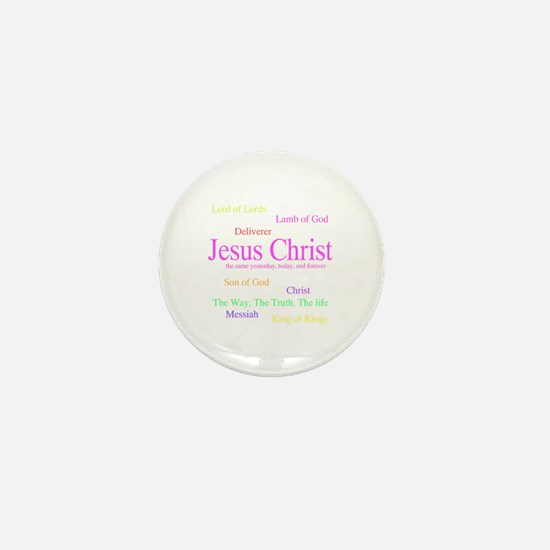 Names of Jesus Mini Button