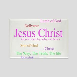 Names of Jesus Rectangle Magnet