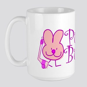 Large Coffee Mug. Puck Bunny.