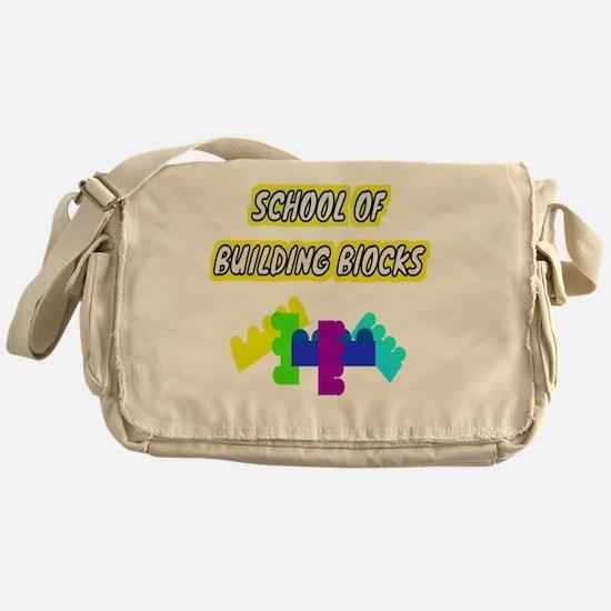 Blocks Messenger Bag