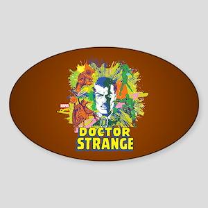 Doctor Strange Villains and Allies Sticker (Oval)