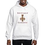 Red Cross of Constantine Hooded Sweatshirt