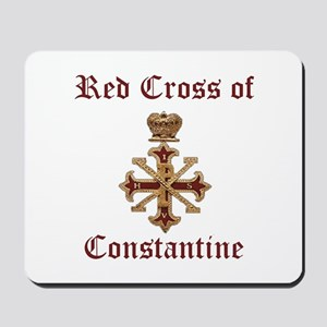Red Cross of Constantine Mousepad