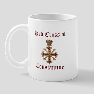 Red Cross of Constantine Mug