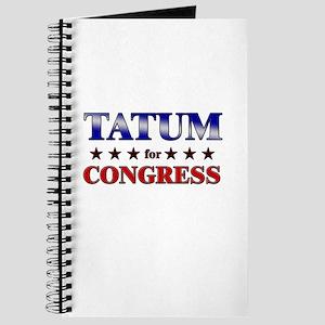 TATUM for congress Journal