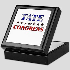 TATE for congress Keepsake Box