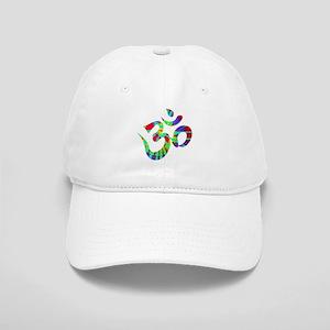 Om Symbol Peace Tie Dye Cap