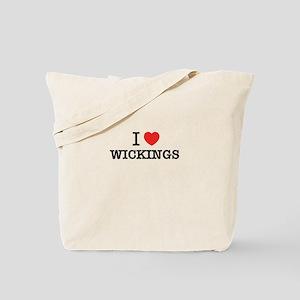 I Love WICKINGS Tote Bag